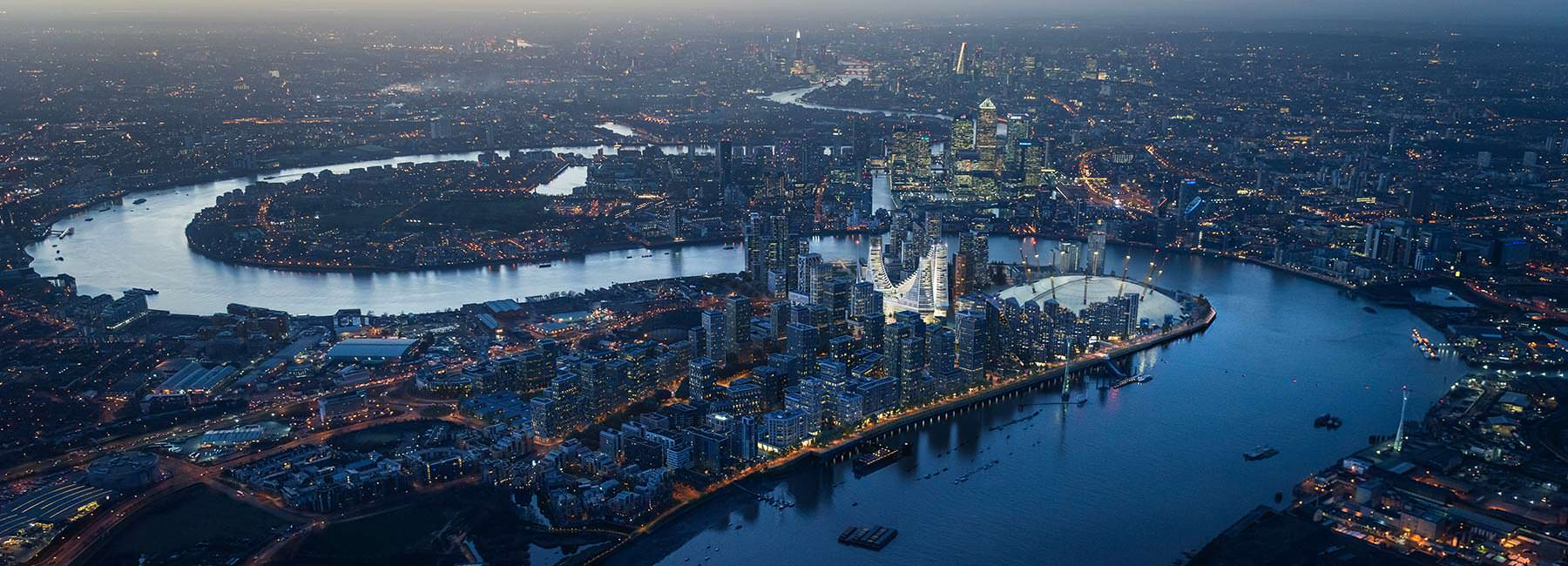 Три Башни в Лондоне. Проект Сантьяго Калатрава