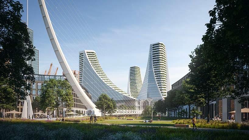 Три башни в Лондоне Сантьяго Калатравы