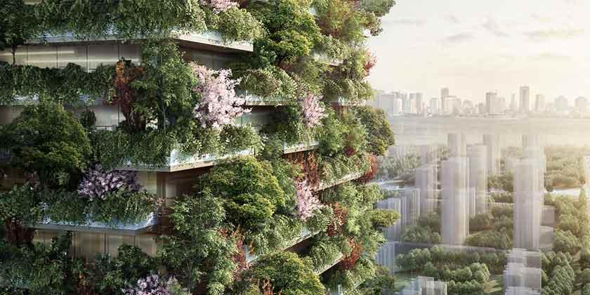 Стефано Боэри построит «Вертикальный лес» в Китае