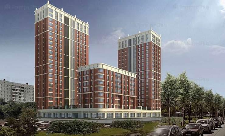 Жилой комплекс «Мейн Хаус» от Glorex Group в Санкт-Петербурге