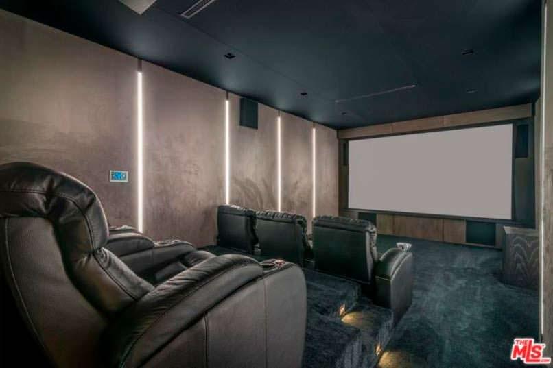Фото   Собственный кинотеатр в доме