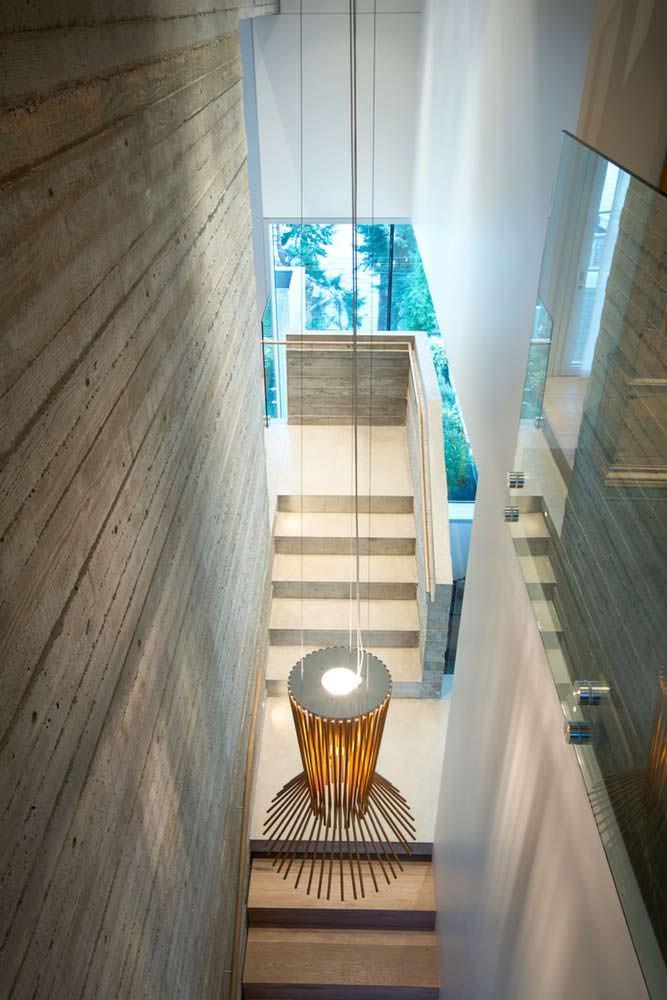 Бетонные лестницы в частном доме