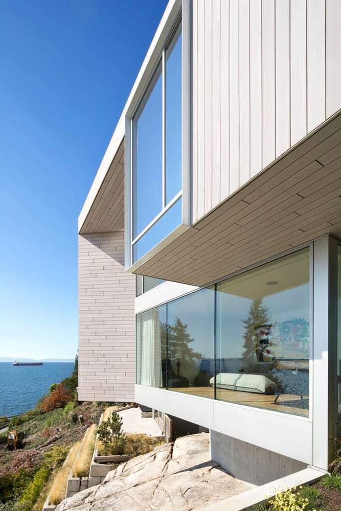 Панорамная спальня. Дизайн Mcleod Bovell