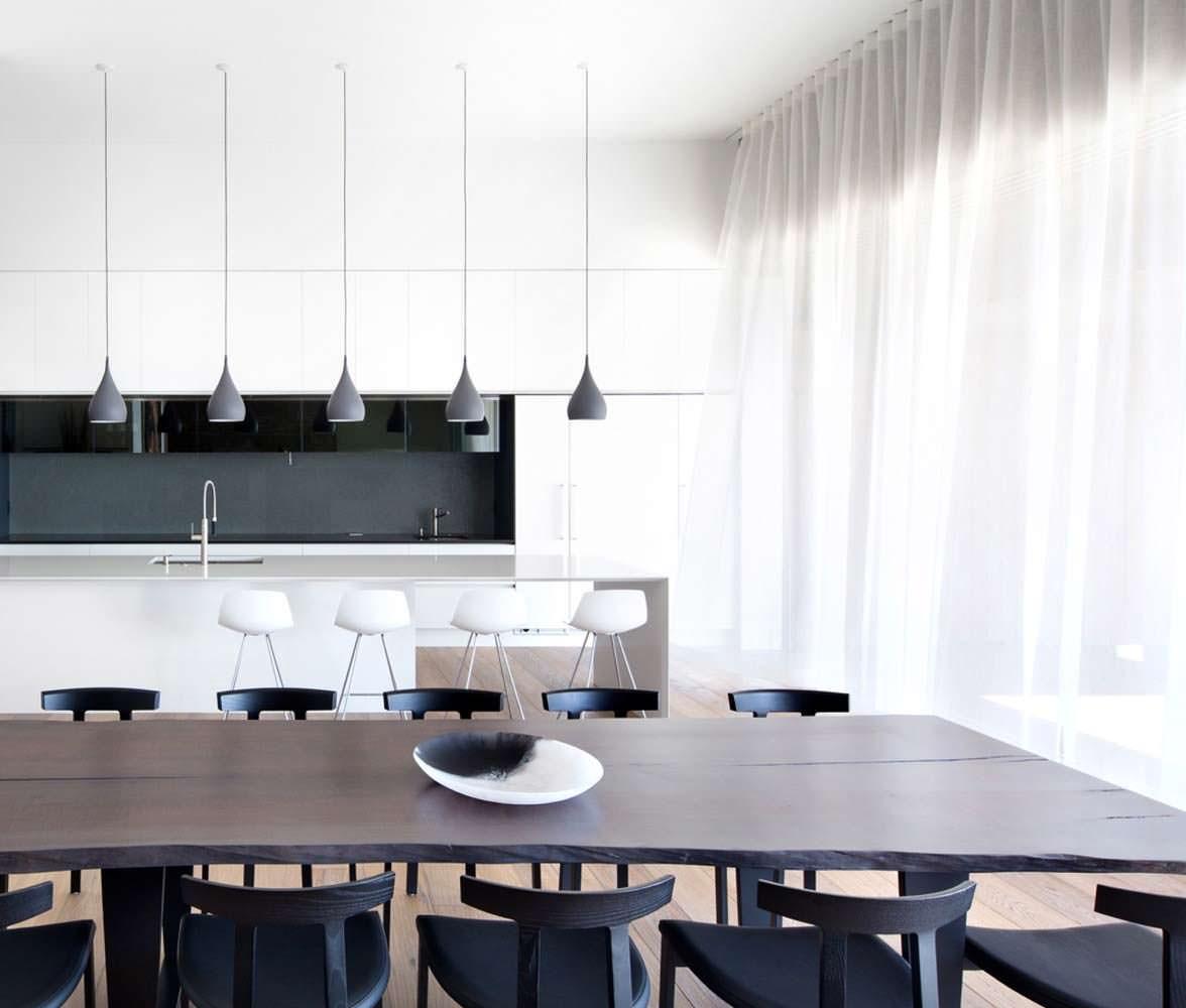 Кухня столовая в стиле минимализм