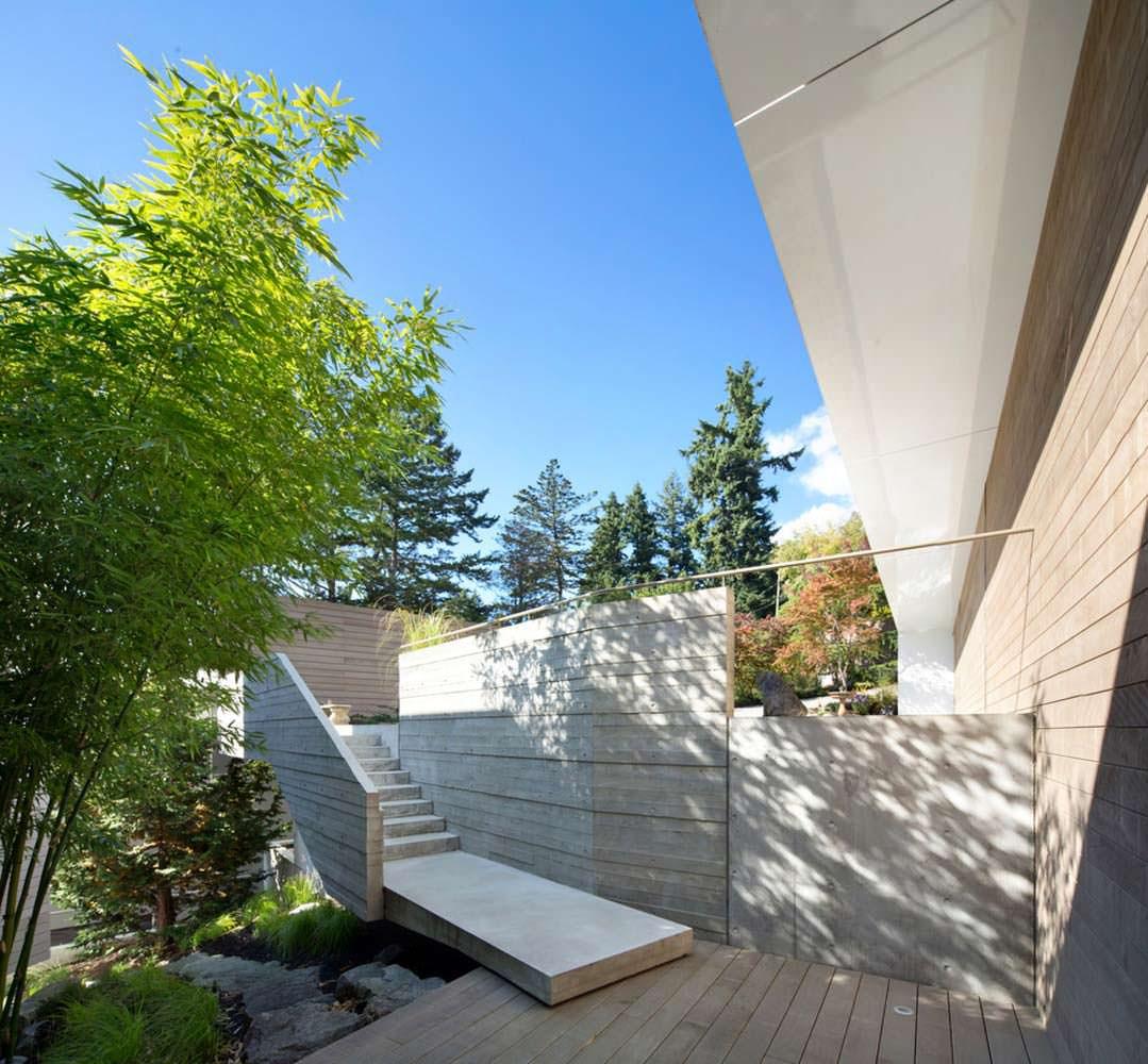 Дом на скале. Проект Mcleod Bovell