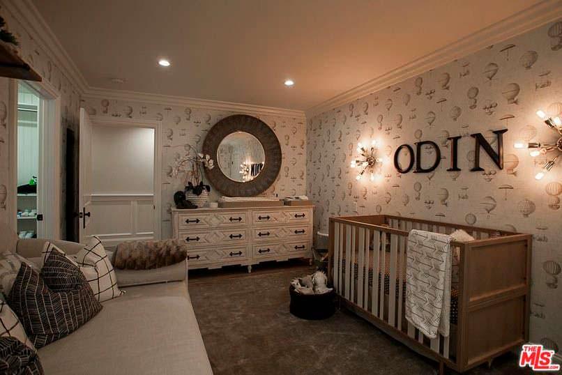 Фото | Дизайн комнаты с детской кроваткой