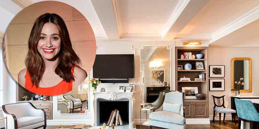 Актриса Эмми Россум продаёт квартиру в Нью-Йорке