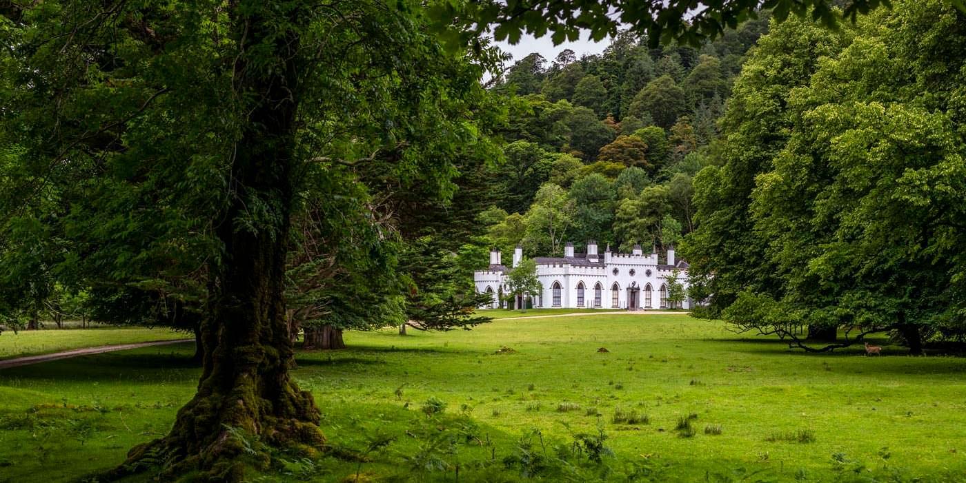 Замок в Ирландии семьи Гиннесс