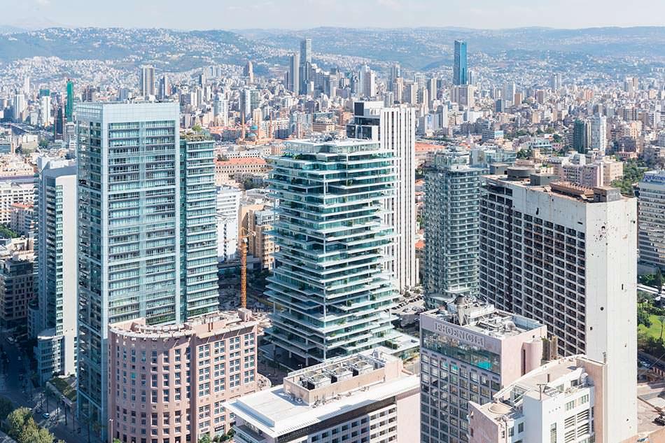 Ассиметричная башня Beirut Terraces от Herzog & De Meuron