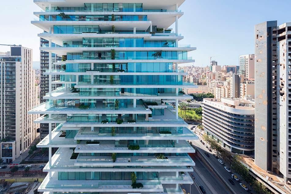 Уникальная башня Beirut Terraces от Herzog & De Meuron