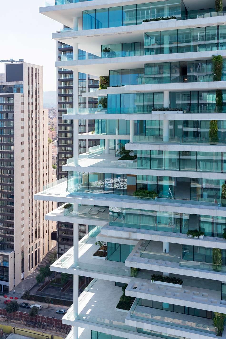 Многоуровневый дизайн Beirut Terraces от Herzog & De Meuron