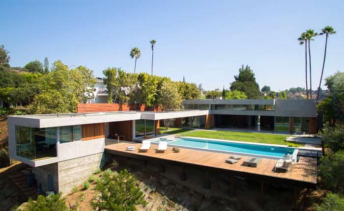 Фото   Дом в стиле модерн в Беверли-Хиллз 90210