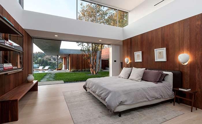 Фото   Дизайн спальни в стиле модерн от SPACE International