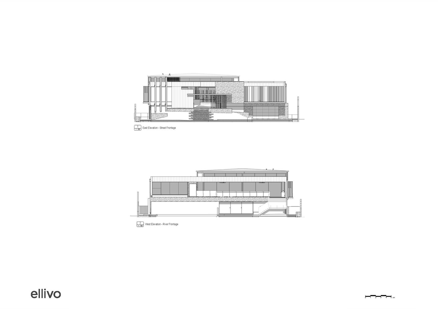 Фото | Проект hi-tech дома C2 House от Ellivo Architects