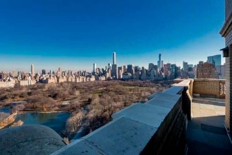 Фото | Терраса с видом на Центральный Парк Манхэттена