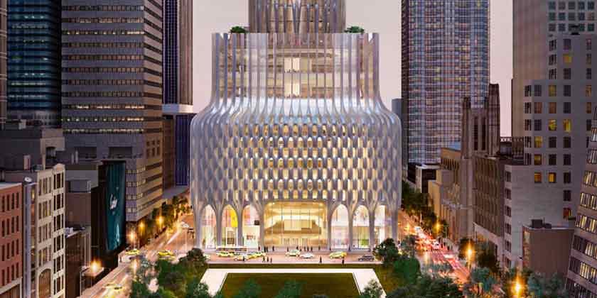 Самый высокий небоскреб Захи Хадид могут построить в Нью-Йорке
