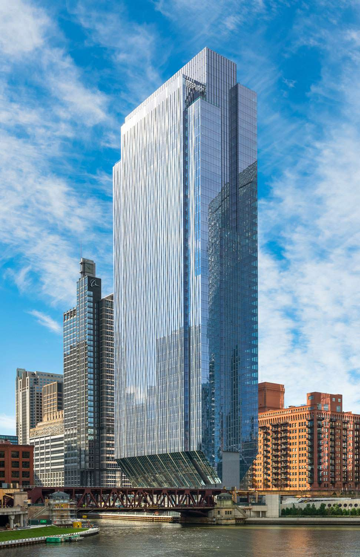54-этажный небоскреб в Чикаго 150 North Riverside
