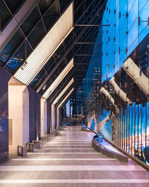 Дизайн небоскреба 150 North Riverside от Goettsch Partners