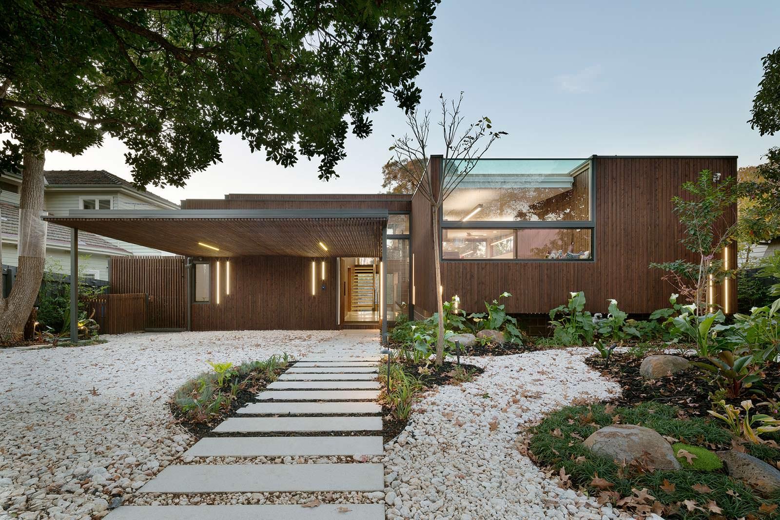 Фото   Экологичный дом в пригороде Мельбурна от Zen Architects