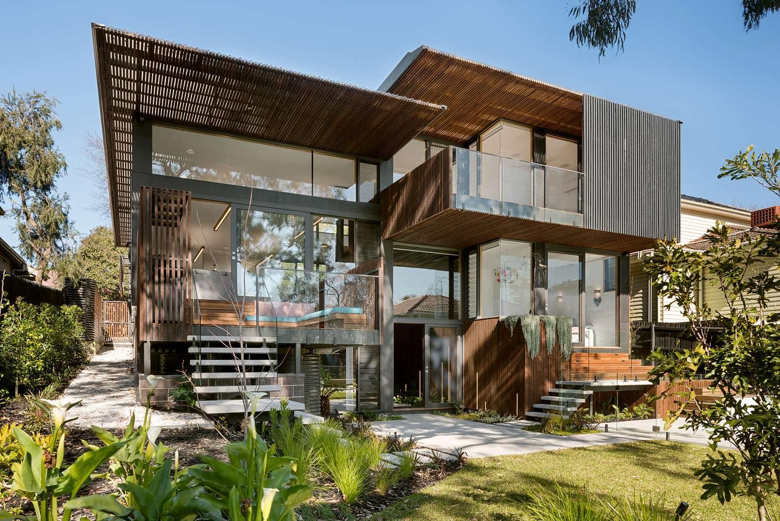 Экологичный дом под Мельбурном в Австралии от Zen Architects