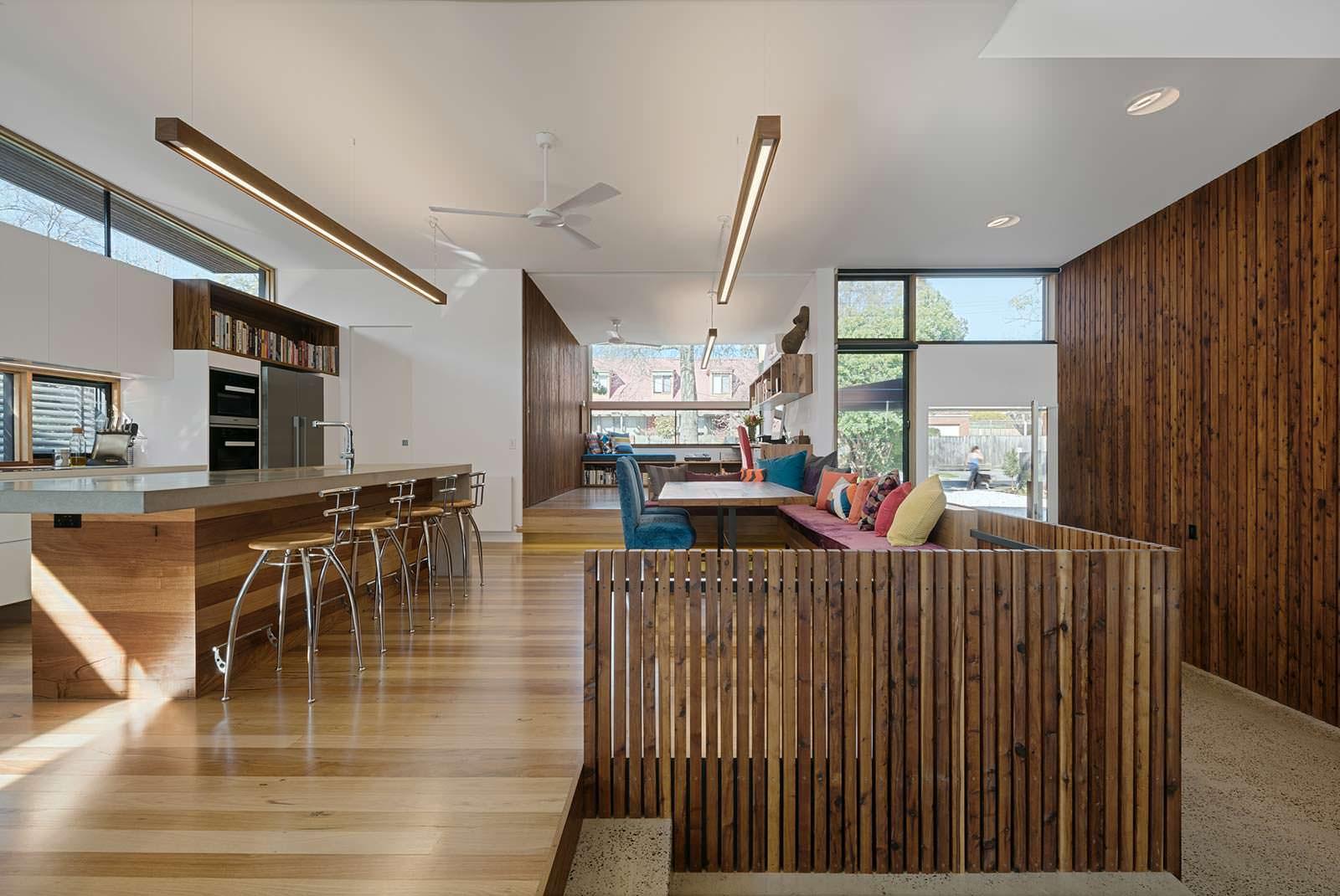 Стиль hi-tech в интерьере. Проект Zen Architects