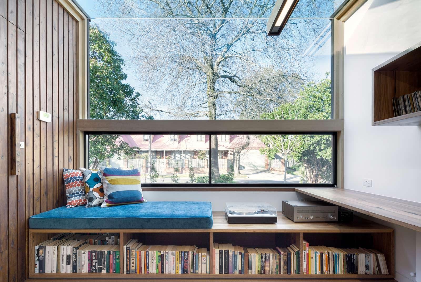 Маленькая домашняя библиотека. Дизайн Zen Architects