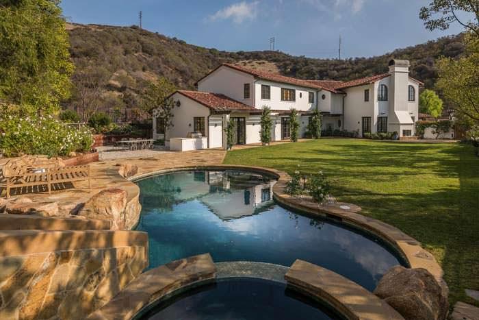 Дом Лорен Конрад в средиземноморском стиле в Калифорнии