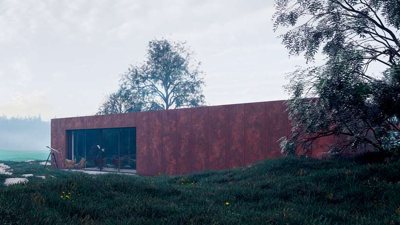 Дом в Карпатах гармонирует с окружающей средой