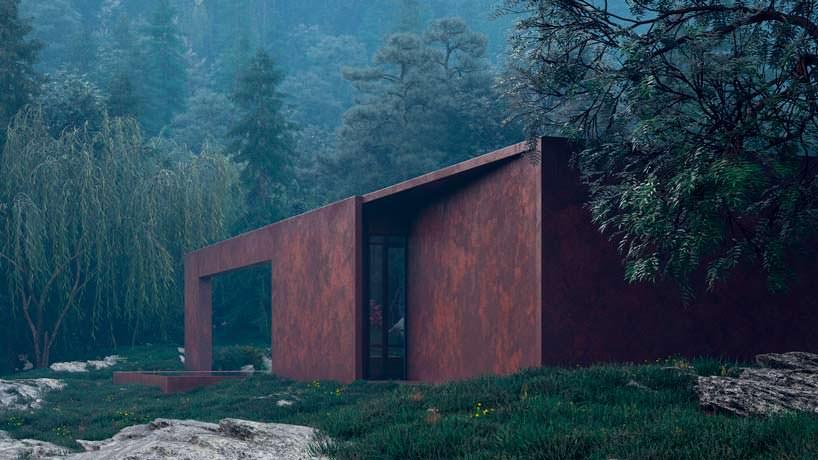 Вид на девственную природу из дома Rose House