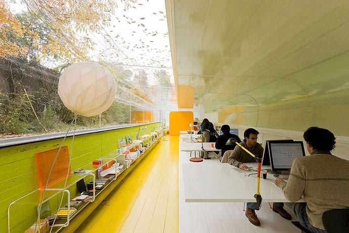 Дизайн офиса минимализм. Проект Selgas Cano