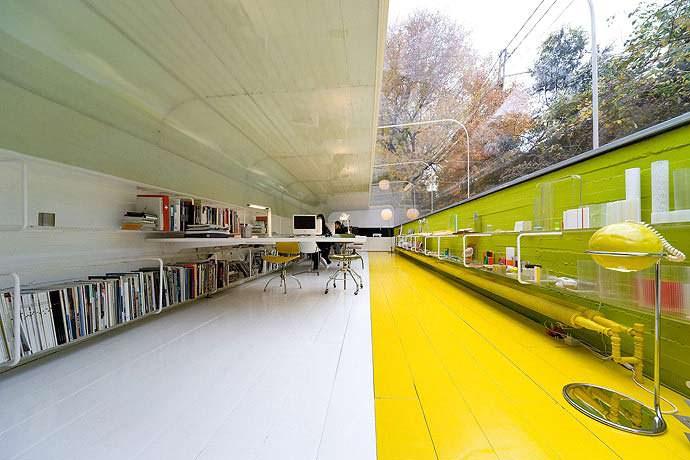 Фото | Стеклянный потолок офиса Selgas Cano
