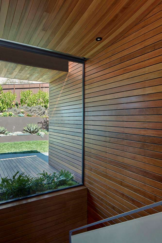 Панорамное остекление в доме от Terry & Terry Architecture