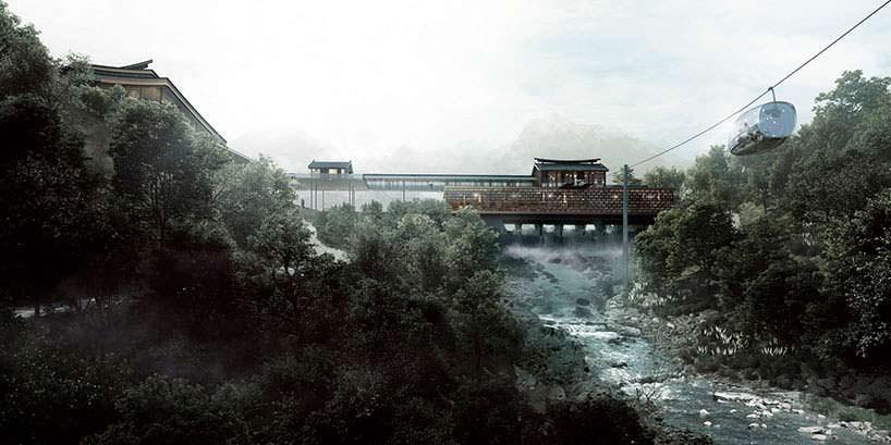 Китайский курорт на острове Хэнгчин. Проект от Aedas