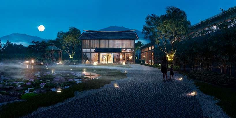 Отель Aedas на тропическом острове на юге Китая