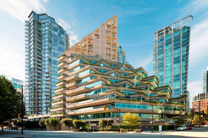 Деревянное здание Сигэру Бана для Ванкувера