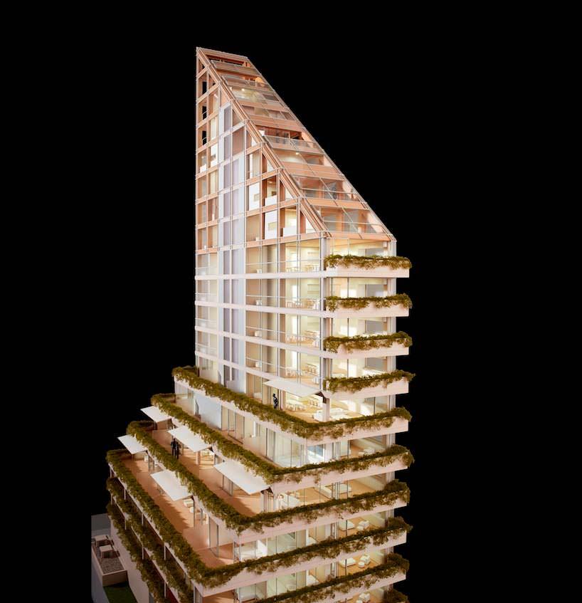 Самое высокое деревянное здание. Архитектор Сигэру Бан