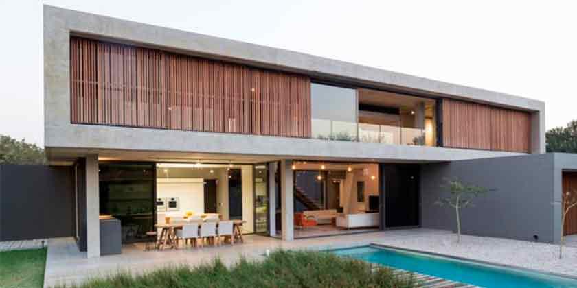 Дом для большой семьи от Thomas Gouws Architects | фото