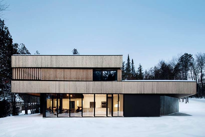 Фото | Дом на берегу озера Мемфремейгог от ACDF Architects