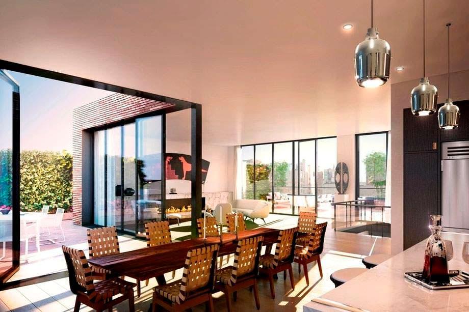 Фото | Двухэтажный пентхаус Джастина Тимберлейка в Нью-Йорке