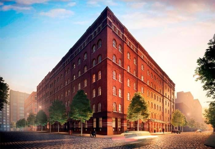 Здание с пентхаусами 443 Greenwich Street в Трайбеке