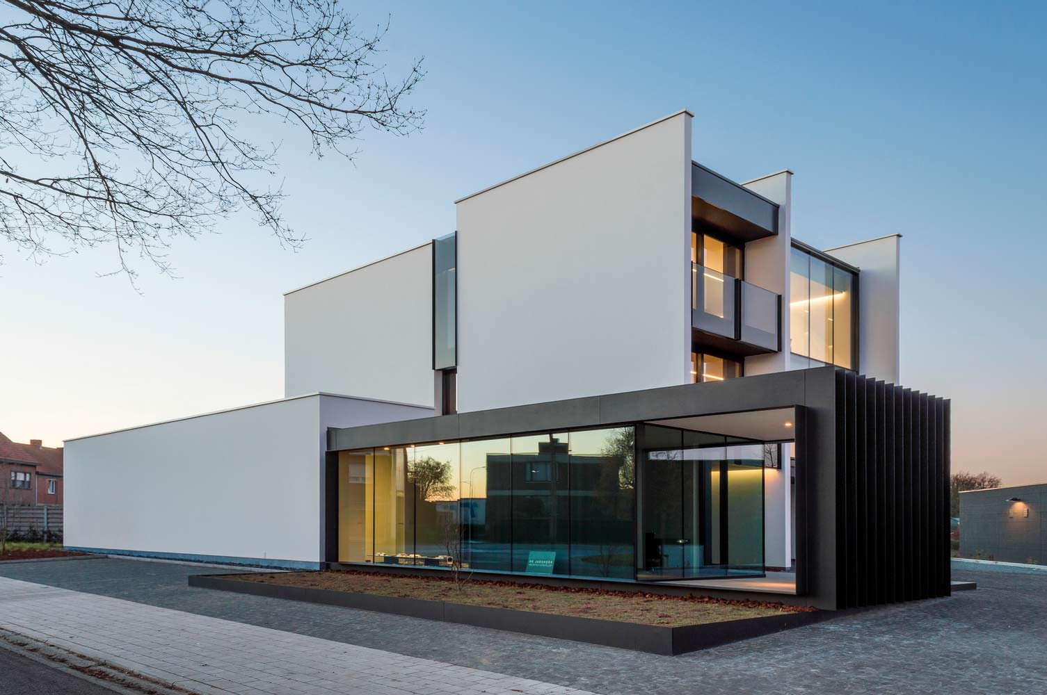 Фото | Современный Hi-Tech дом в Бельгии