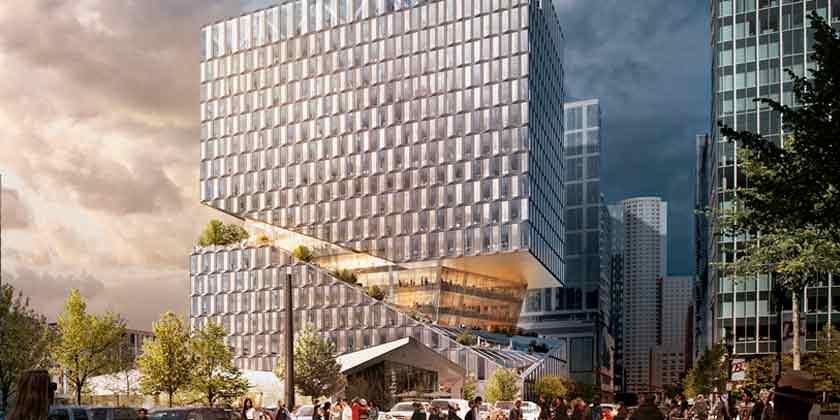 OMA построит комплекс смешанного использования в Бостоне