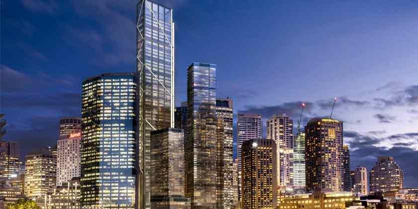 Норман Фостер построит новый небоскреб в гавани Сиднея