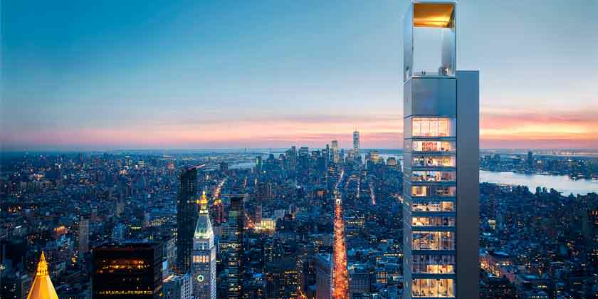 Студия Meganom из Москвы спроектировала башню для Манхэттана