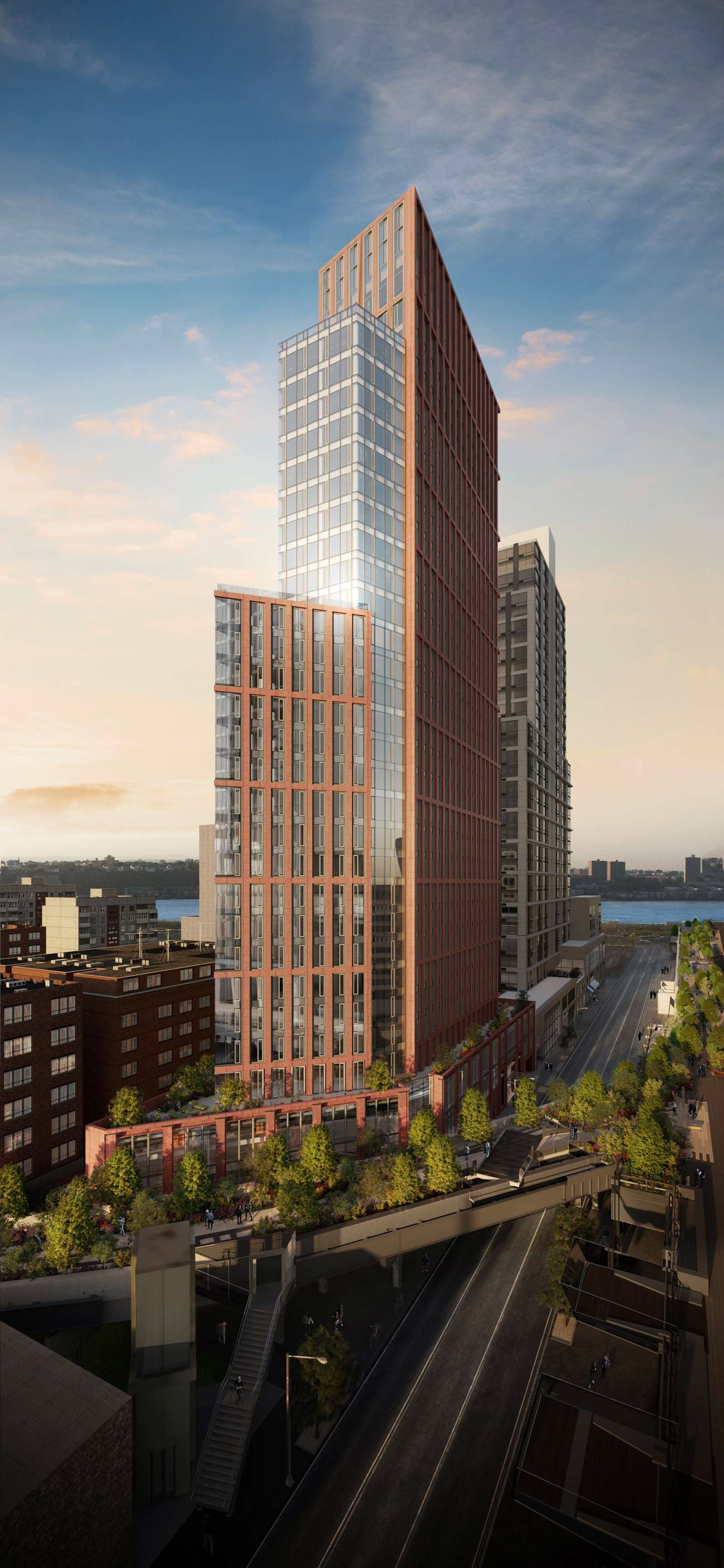 33-этажный небоскреб на Манхэттене от Davis Brody Bond