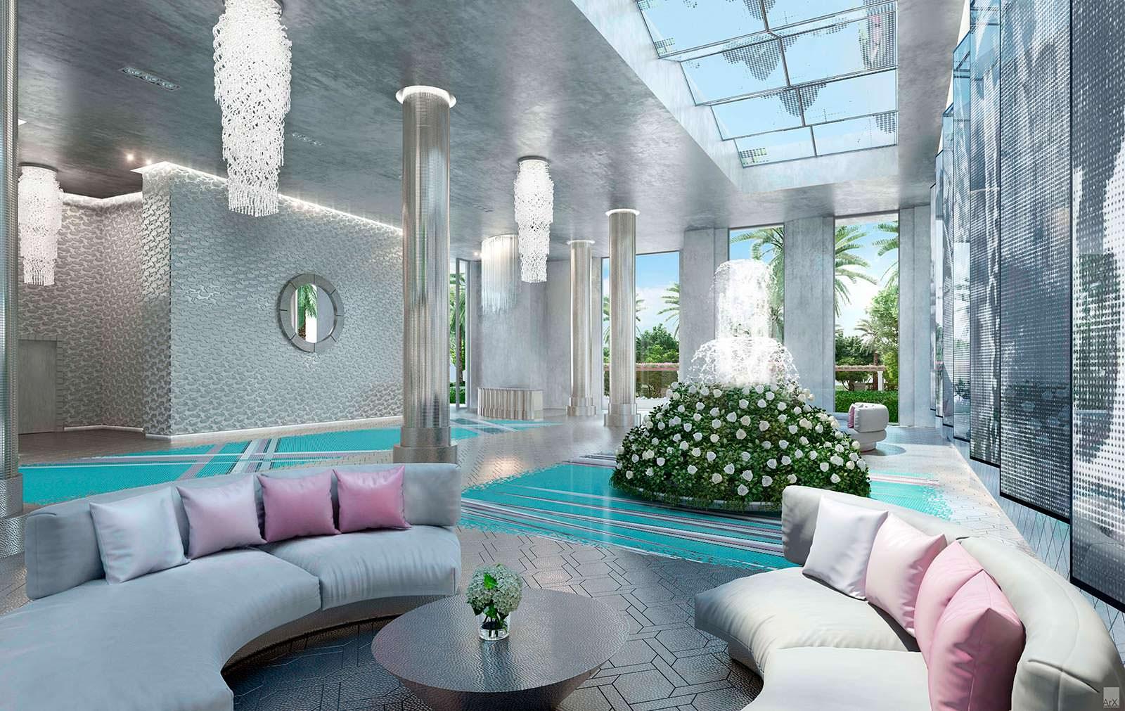 The Estates At Acqualina в Майами. Дизайн Карл Лагерфельд