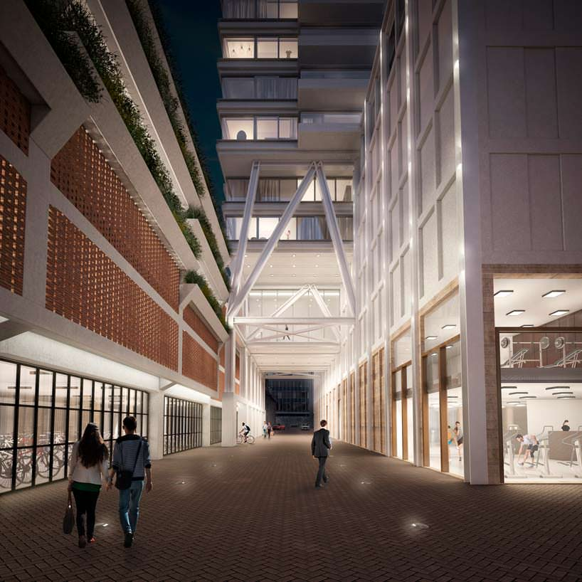 Небоскреб Cooltoren в Нидерландах. Проект V8 Architects