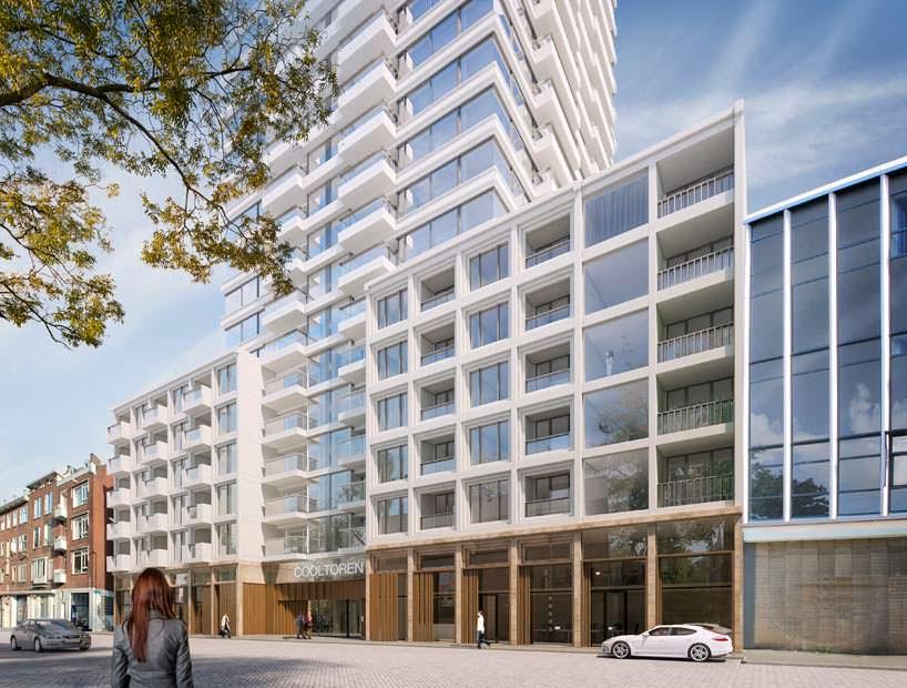 Башня Cooltoren в Нидерландах на 280 квартир