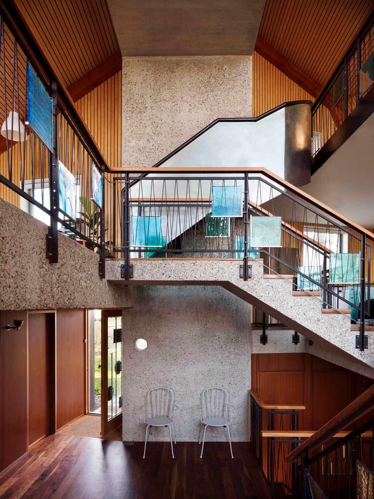 Дом с открытой планировкой. Проект Mole Architects
