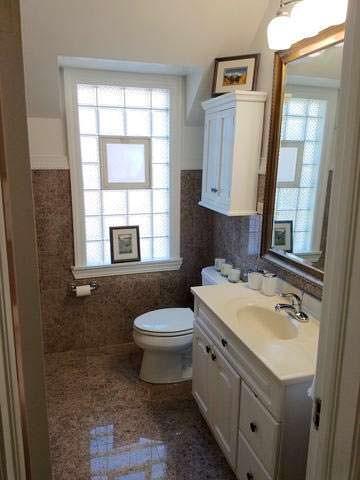 Интерьер туалета в доме Опры Уинфри